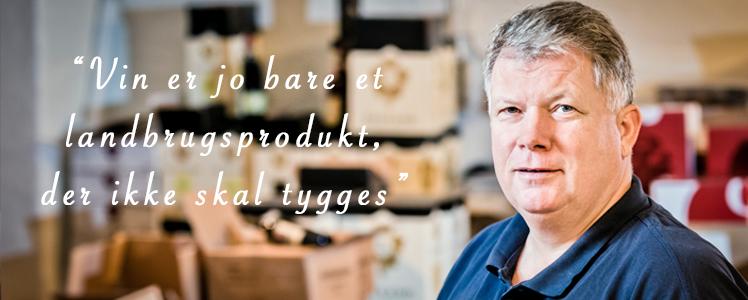 Vinagenten i Svendborg ejes af Lars Pedersen